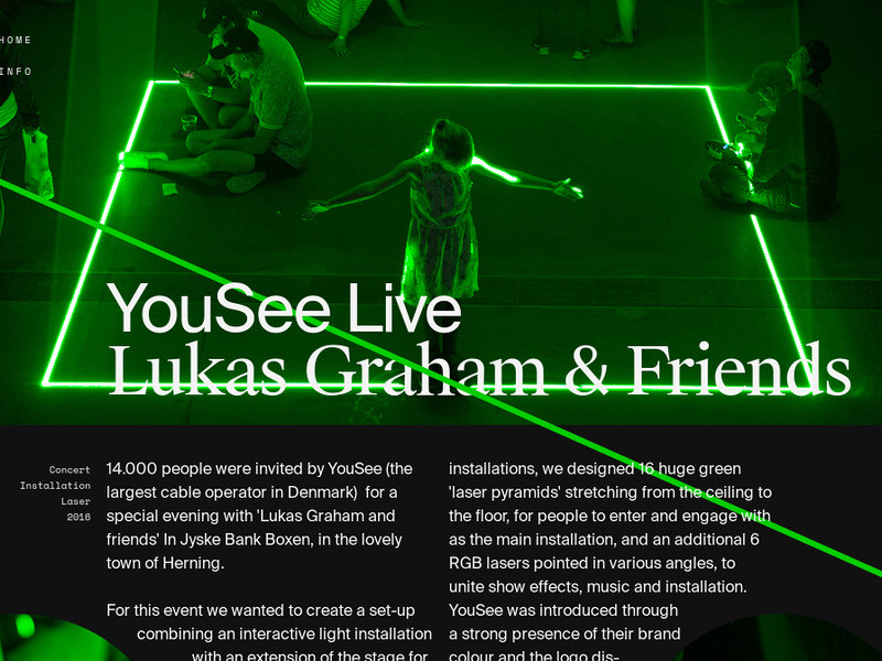 YouSee × Lukas Graham