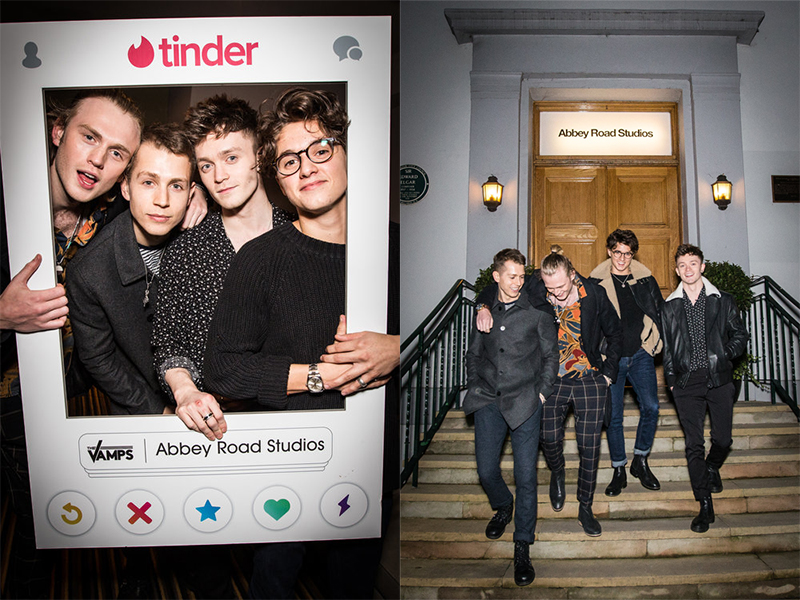 Tinder x The Vamps