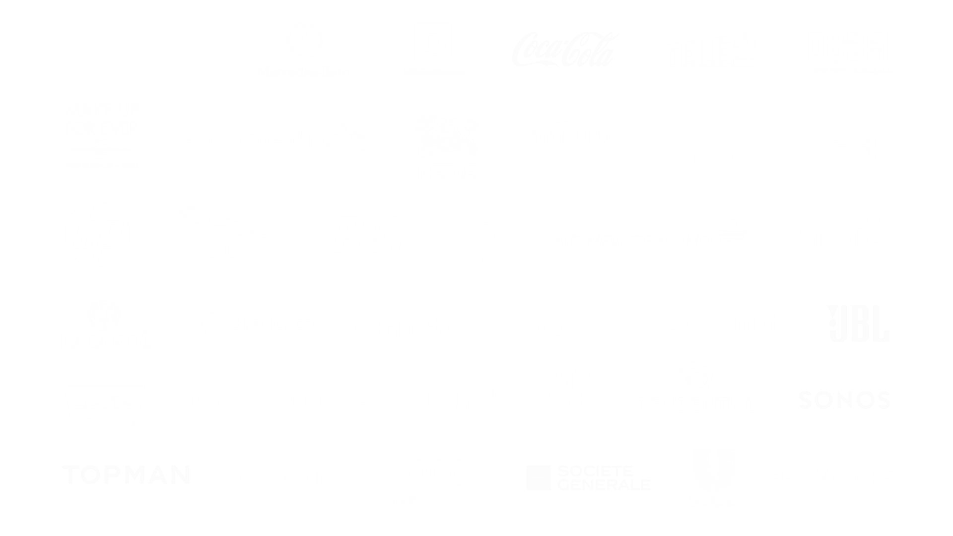 Universal Music Group client logos